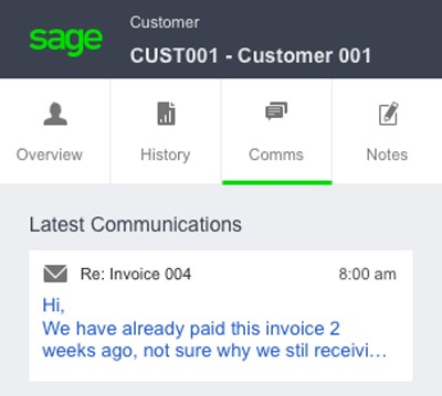 SAGE CONTACT FOR OFFICE 365